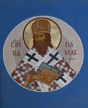 Святий Павел Тобольський, фреска