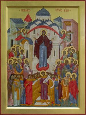 Покров Пресвятої Богородиці | храмова ікона