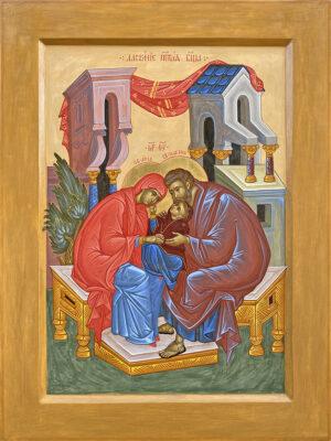 Ікона ласкання Пресвятої Богородиці